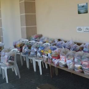 25 toneladas de alimentos são arrecadados pela Maratona da Solidariedade