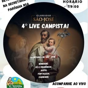 4ª live do Movimento Campista