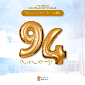 Diocese de Joinville completa 94 anos neste domingo