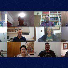 Membros do Grupo de Reflexão Pastoral do Regional Sul 4 da CNBB realizam reunião virtual