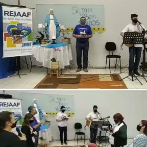 Paróquia Nossa Senhora Medianeira realiza live Um Caminho para Conversão