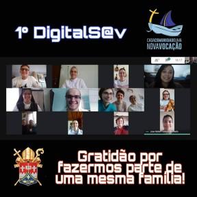 Pastoral Vocacional realiza primeiro DigitalSav