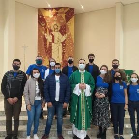 Primeira Missa Jovem é realizada na Paróquia São Cristóvão de Jaraguá do Sul