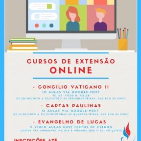 Últimos dias para se inscrever nos cursos de extensão online da Faculdade Católica de SC