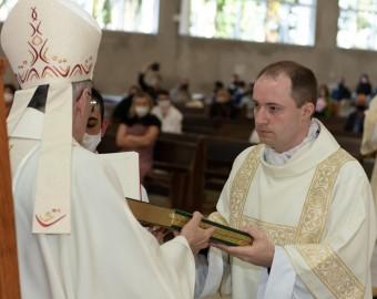 Missa de ordenação de diáconos transitórios Fotos Jailson Foto Evento