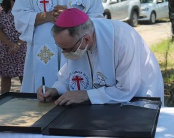 Lançamento da Pedra Fundamental Pequeno Cotolengo Joinvilense | Fotos: Pascom Paróquia Nossa Senhora do Caravaggio