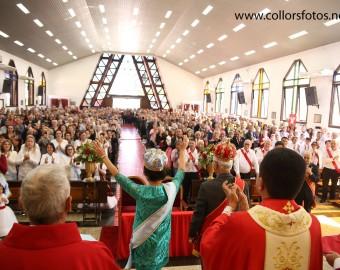 Missa do Divino em Barra Velha (foto anterior à pandemia)