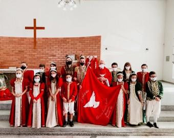 Pentecostes Paróquia Divino Espírito Santo Petrópolis