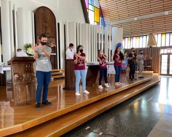 Missa Diocesana Jovem Agosto 2021