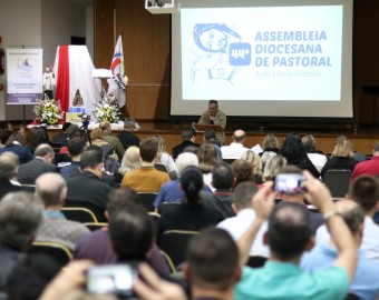 44ª Assembleia Diocesana de Pastoral (primeiro dia) | Fotos: Eduardo Schmitz