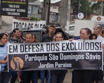 Grito dos Excluídos na paróquia São Domingos Sávio | Fotos: Pascom