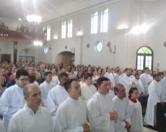 Missão dos Seminaristas da Diocese de Joinville na Paróquia Santíssima Trindade - Campo Alegre