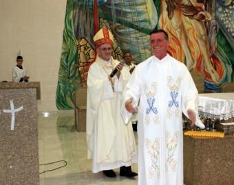 Posse padre Ludgero Mafra Santuário Nossa Senhora Aparecida | Fotos: Gustavo Franco