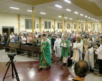 Missa de ação de graças pelos 25 anos da Pastoral Antialcoólica