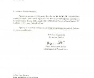 Coleta Lugares Santos 2020