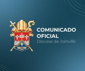 Comunicação oficial: suspensão de celebrações