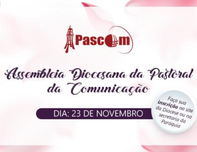 Assembleia Diocesana da Pascom 2018