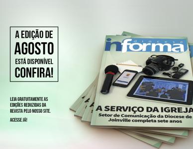 Revista Diocese Informa de agosto está disponível