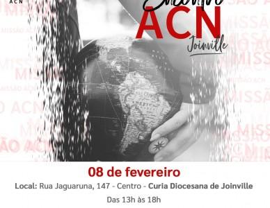Diocese de Joinville terá encontro da Missão ACN Ajuda à Igreja que Sofre