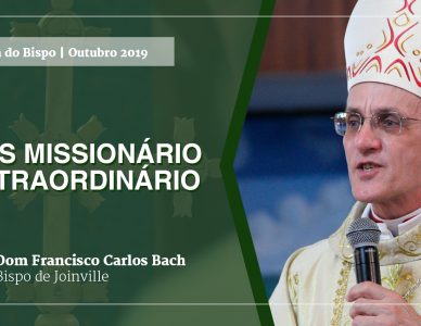 Palavra do Bispo: Mês Missionário Extraordinário