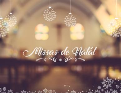 Horários de Missas de Natal na Diocese de Joinville