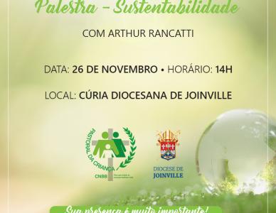 Sustentabilidade é tema de palestra para a Pastoral da Criança