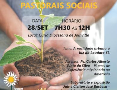 Pastorais Sociais vão trabalhar o meio ambiente em seminário