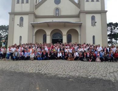 320 coordenadores do Apostolado da Oração participam de retiro em Campo Alegre