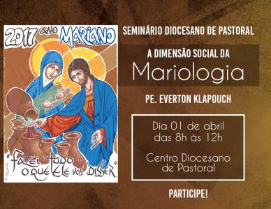 Seminário Diocesano das Pastorais Sociais é realizado neste sábado