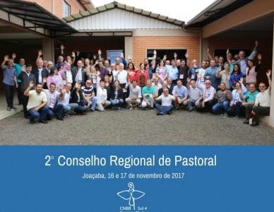 Conselho Regional de Pastoral se reúne em Joaçaba/SC