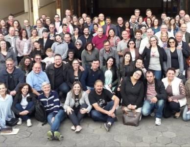 Casais palestrantes de Joinville e Jaraguá do Sul realizaram a primeira reunião diocesana