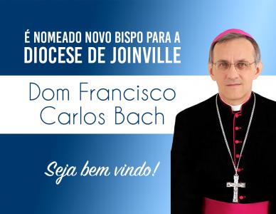Anunciado o nome do novo bispo da Diocese de Joinville
