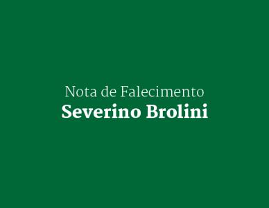 Nota de falecimento: Severino Brolini