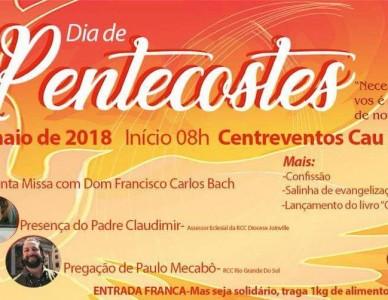 Venha participar da concentração diocesana de pentecostes!