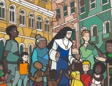 Cartaz da Campanha da Fraternidade 2020 é inspirado em Santa Dulce
