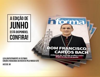Edição de junho da revista Diocese Informa está disponível
