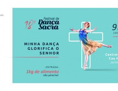 Festival de Dança Sacra chega a 18º edição