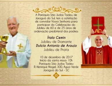 Missa de Jubileu em Jaraguá do Sul