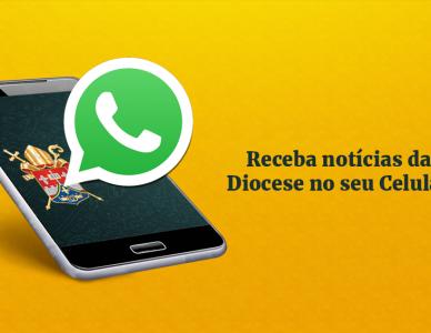 Receba notícias da Diocese pelo Whatsapp