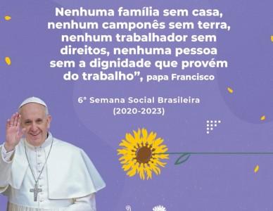 Ações da 6ª Semana Social Brasileira são ampliadas até 2023