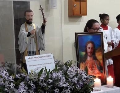 Imagens de São Francisco Xavier retornam à Diocese após peregrinação