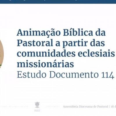 Anunciamos através do nosso testemunho o que Deus quer comunicar ao seu povo