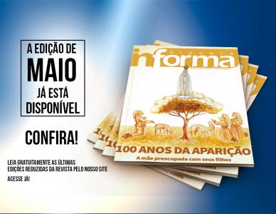 Edição do mês de maio da revista Diocese Informa está disponível