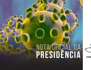CNBB emite mensagem sobre cuidados com coronavírus