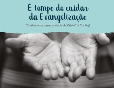 CNBB lança campanha é Tempo de Cuidar da Evangelização 2020