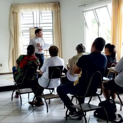 Comarca Jaraguá do Sul realiza retiro para agentes da PV e SAV