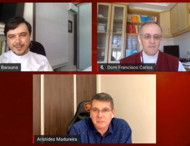 Concentração Diocesana do Dízimo foi online na Diocese de Joinville