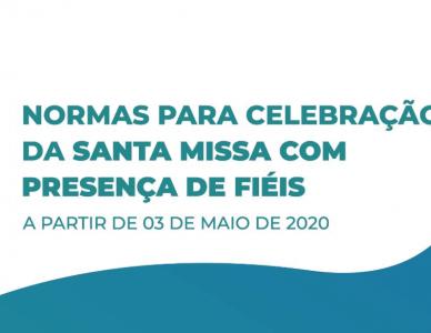 Confira as regras para a realização de Missas com presença dos fiéis na Diocese de Joinville