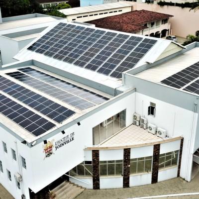 Cúria Diocesana garante economia e sustentabilidade com energia solar