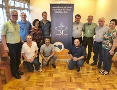 Grupo de Reflexão Pastoral do Regional Sul 4 se reúne em Florianópolis (SC)
